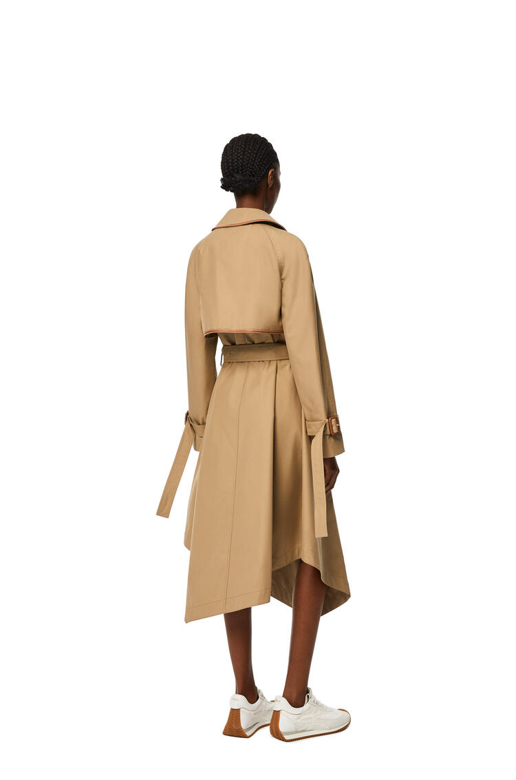 LOEWE Trench coat in cotton Beige pdp_rd