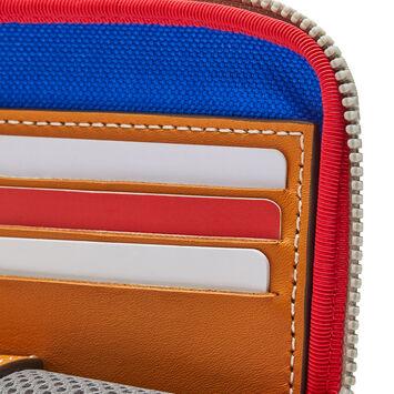 LOEWE ELNポケットポーチ ブルー/レッド front