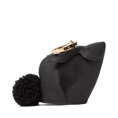 LOEWE Charm Conejo Negro front