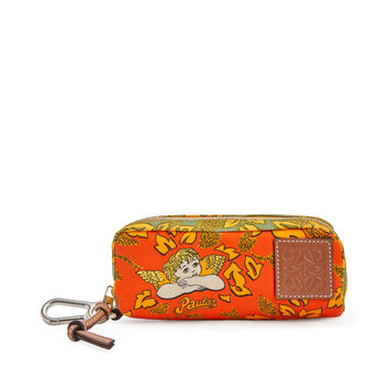 LOEWE Paula Sunglasses Case Orange front
