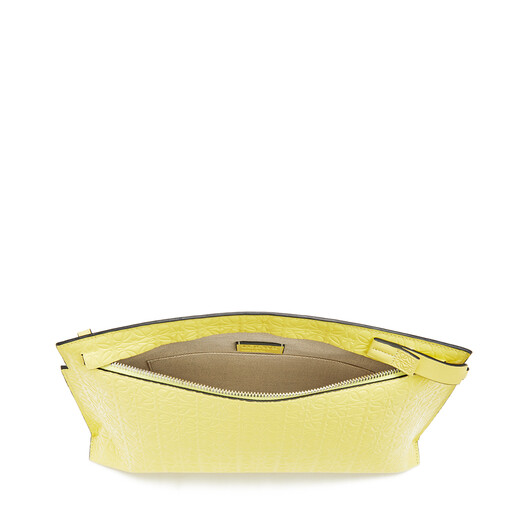 LOEWE T Pouch Repeat Yellow front