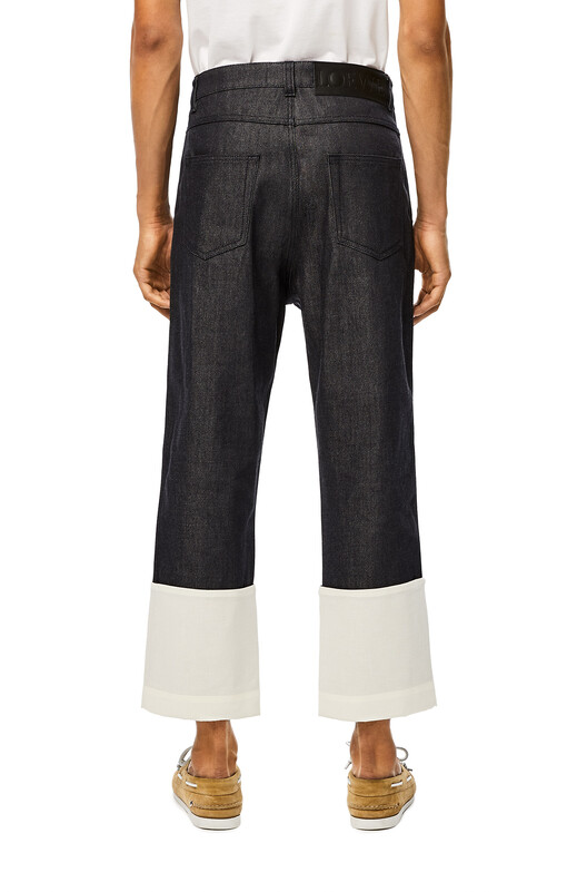 LOEWE Fisherman Jeans 海军蓝 front