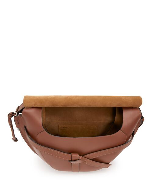 LOEWE Gate Xl Bag Cognac front