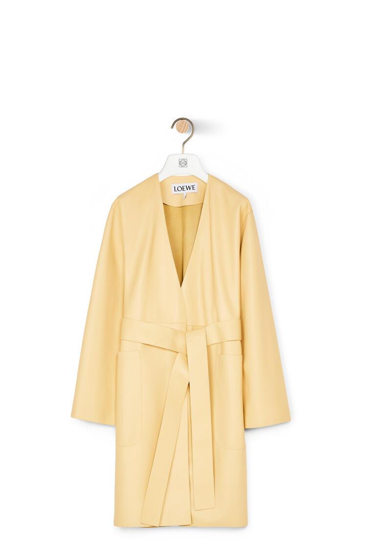 LOEWE Coat in nappa Butter pdp_rd
