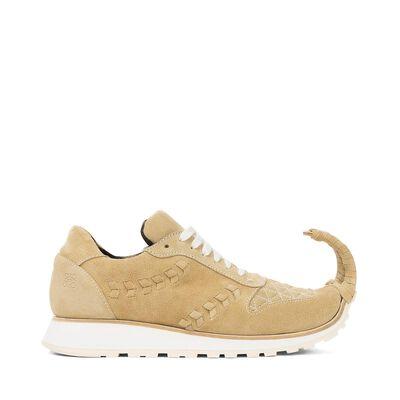 LOEWE Sneaker Dinosaur Gold front