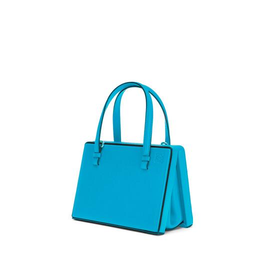 LOEWE Postal Small Bag Peacock Blue front