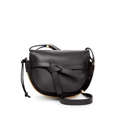 LOEWE Gate Frame Small Bag Black front