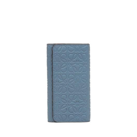 LOEWE Repeat 6 Keys Keyring Stone Blue front