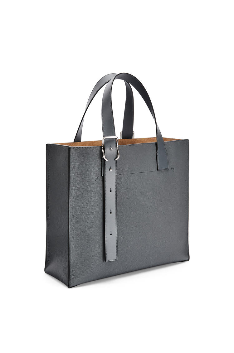 LOEWE Buckle tote bag in soft grained calfskin Anthracite pdp_rd