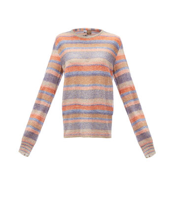 LOEWE Paula Stripe Sweater Multicolor front