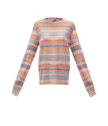 LOEWE Paula Stripe Sweater Multicolor front