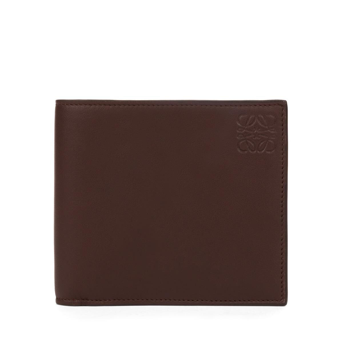 LOEWE Billetero Chocolate/Burdeos all