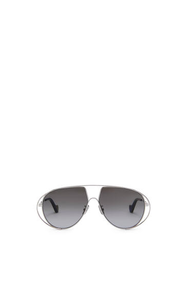 LOEWE Metal Pilot Sunglasses 深煤灰 pdp_rd