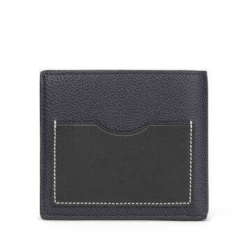 LOEWE Bifold Wallet Midnight Blue/Black front