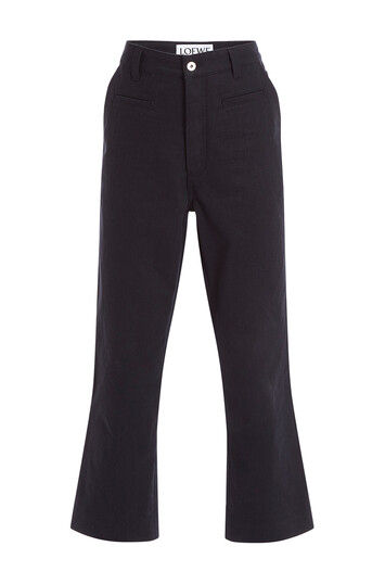 LOEWE Fisherman Trousers Black front