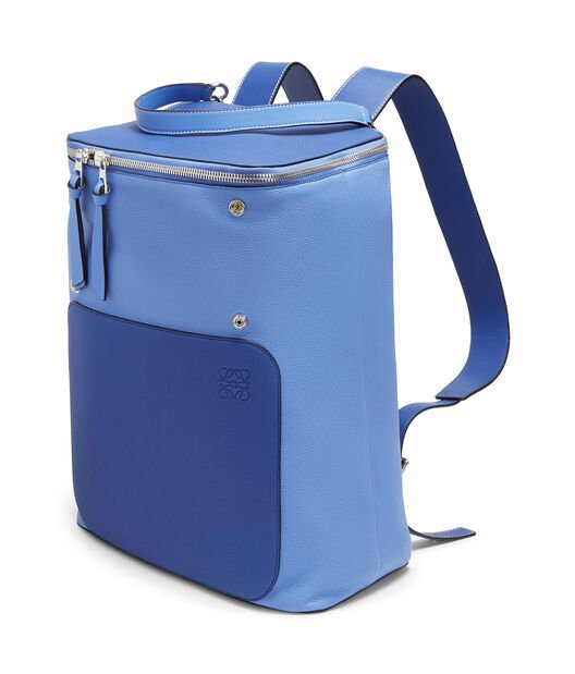 LOEWE Goya Backpack Pacific Blue/Seaside Blue front