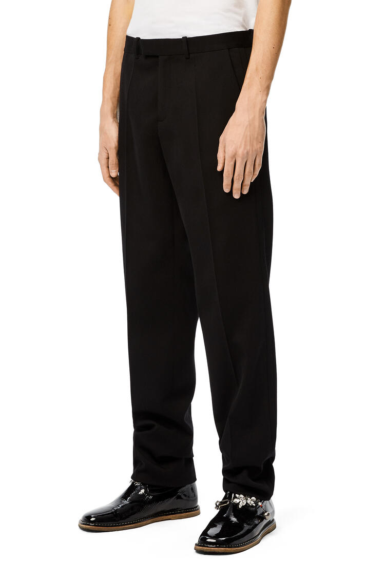 LOEWE Trousers in wool Black pdp_rd