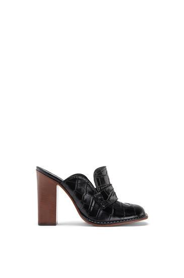 LOEWE Loafer in calfskin Black pdp_rd
