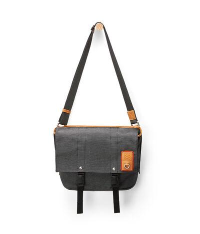 LOEWE Eln Messenger Bag Black front