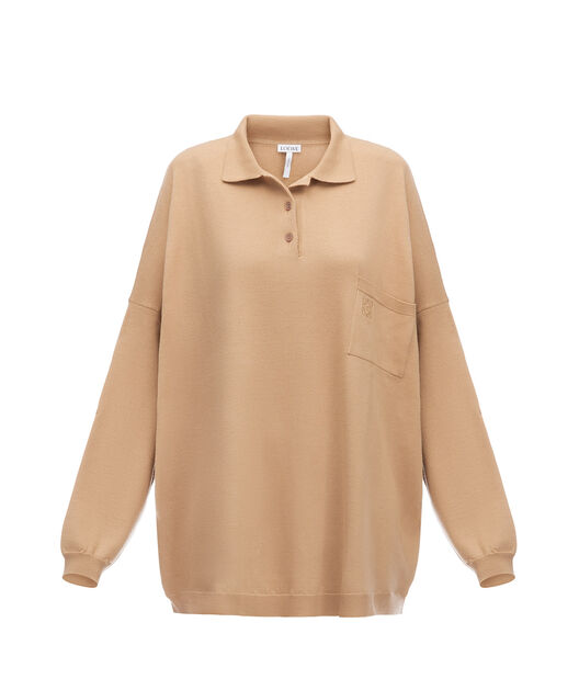 Oversize Poloneck Sweater