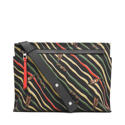 LOEWE T Messenger Paula Flags Bag Black front