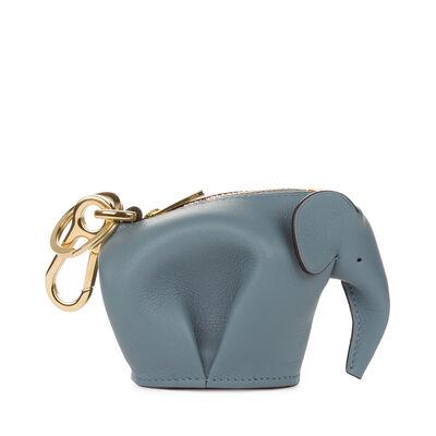 LOEWE Charm Elefante Azul Piedra front