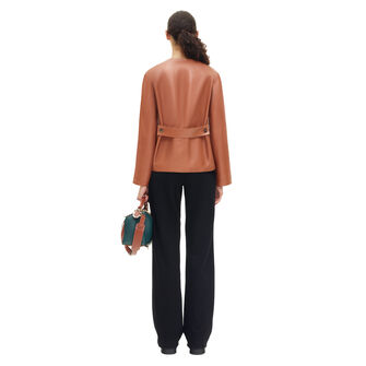 LOEWE Jacket 棕色 front
