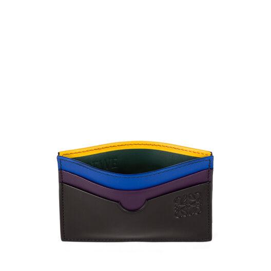LOEWE Rainbow Plain Card Holder Multicolor all