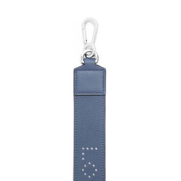 LOEWE Bandolera Perforada Azul Varsity front