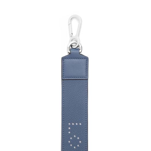 LOEWE Perforated Strap Varsity Blue front