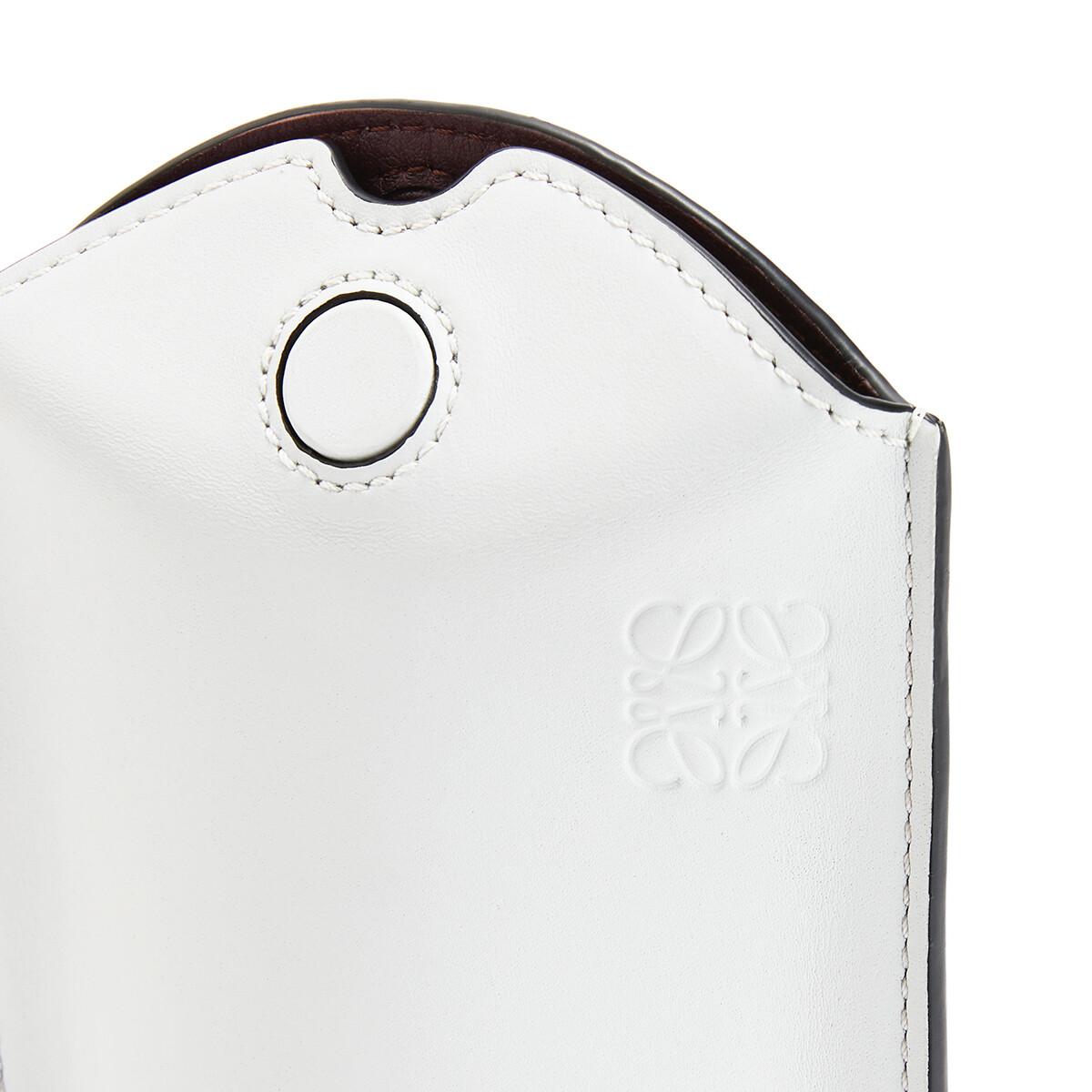 LOEWE Gate Pocket Kaolin/Sage front