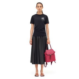 LOEWE T-Shirt Loewe Bird 黑色 front