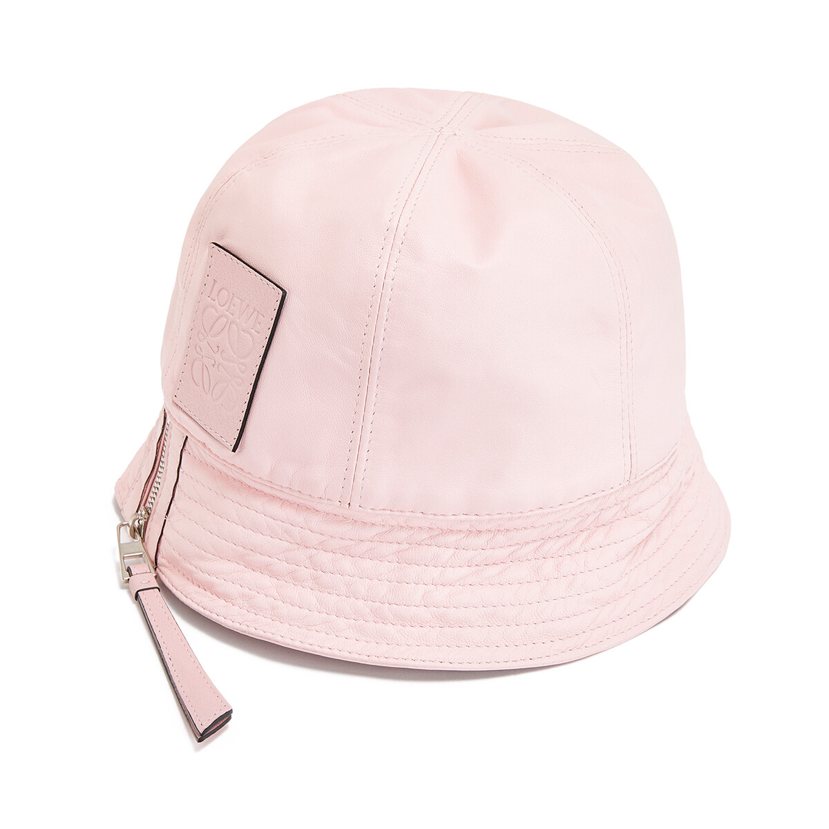 LOEWE バケット ハット Icy Pink front