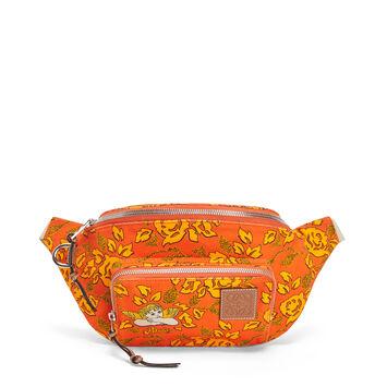 LOEWE Paula's Bumbag Prints Orange front