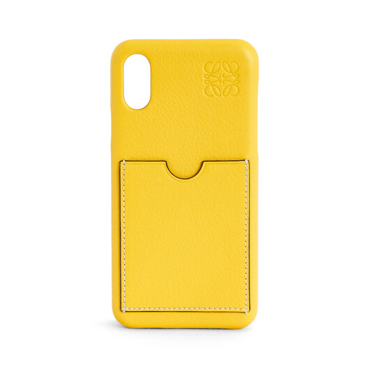 LOEWE Cover For Iphone X/Xs Yellow front