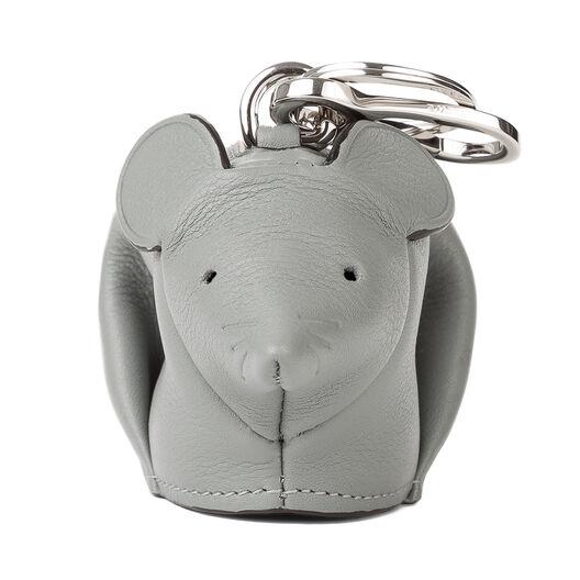 LOEWE マウス チャーム Grey/Candy front
