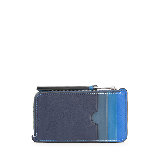LOEWE Rainbow Coin Cardholder Multicolor front