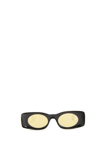 LOEWE Paula's Ibiza Original Sunglasses In Acetate Black/White pdp_rd