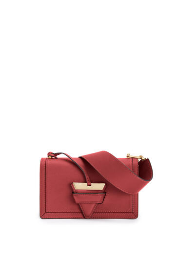 LOEWE Barcelona bag in soft grained calfskin Deep Red pdp_rd