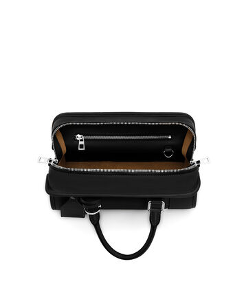 LOEWE Amazona 28 Bag Black/Palladium front