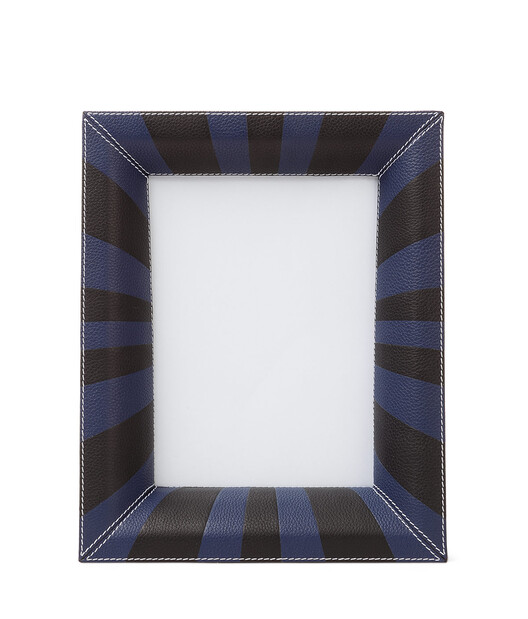LOEWE Photo Frame Navy Blue/Black front
