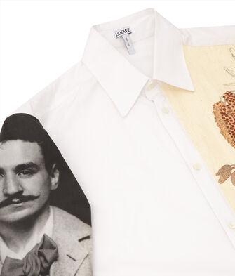 LOEWE Shirt Botanical & Portrait Multicolor front