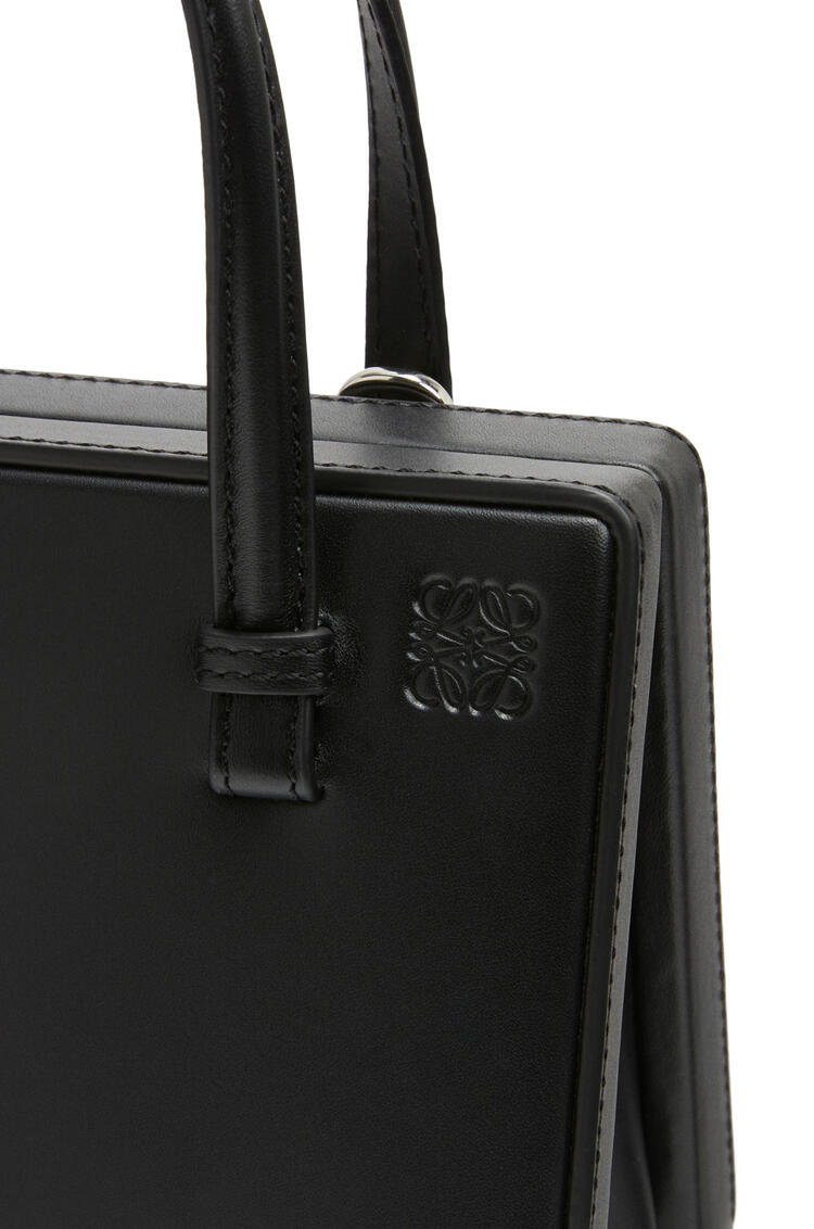 LOEWE Small Postal bag in natural calfskin Black pdp_rd