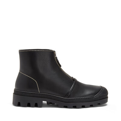 LOEWE Zip Boot Black front
