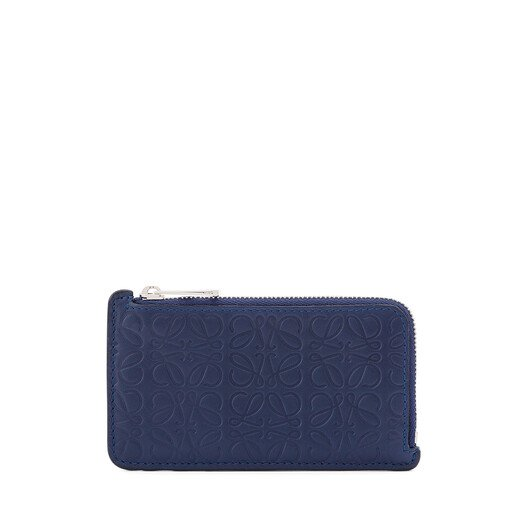 LOEWE Repeat C/C Holder Navy Blue front