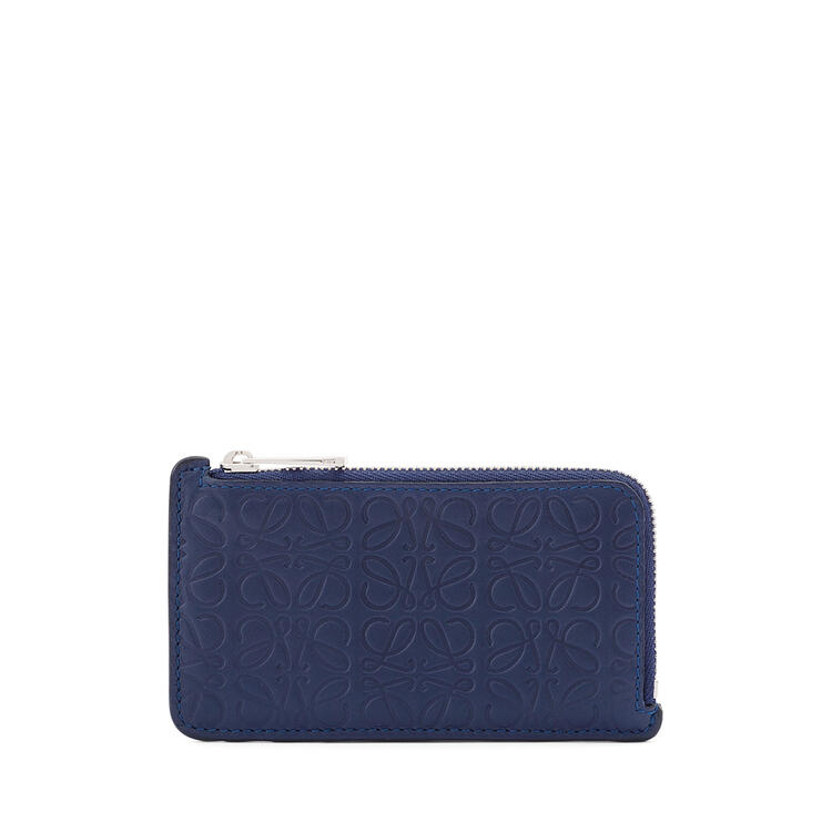 LOEWE Coin cardholder in calfskin Navy Blue pdp_rd