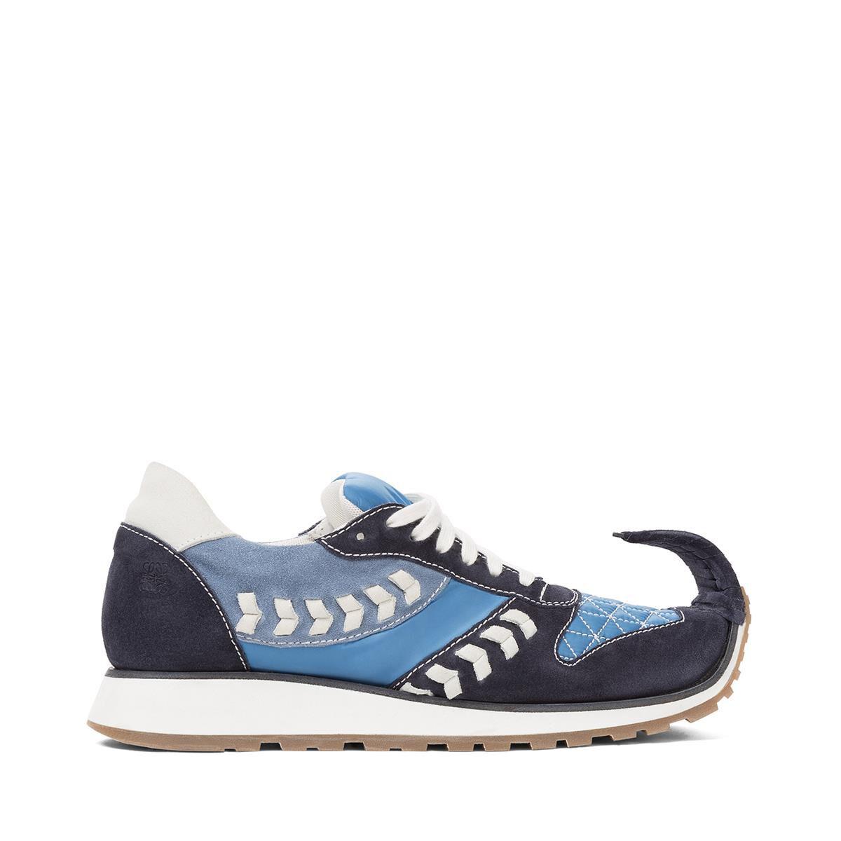 dinosaur sneakers - Blue Loewe CSCoW