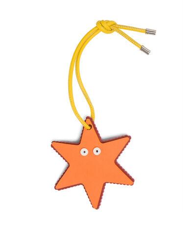 LOEWE Paula Water Star Charm Orange/Yellow front