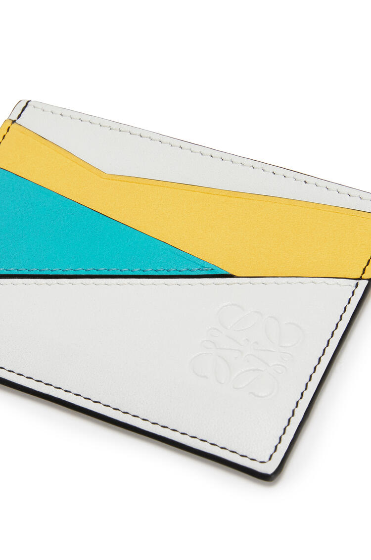 LOEWE Puzzle plain cardholder in classic calfskin Greige pdp_rd