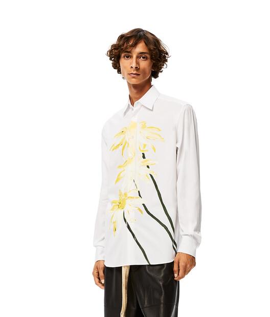 LOEWE Daisy Print Shirt 白色 front
